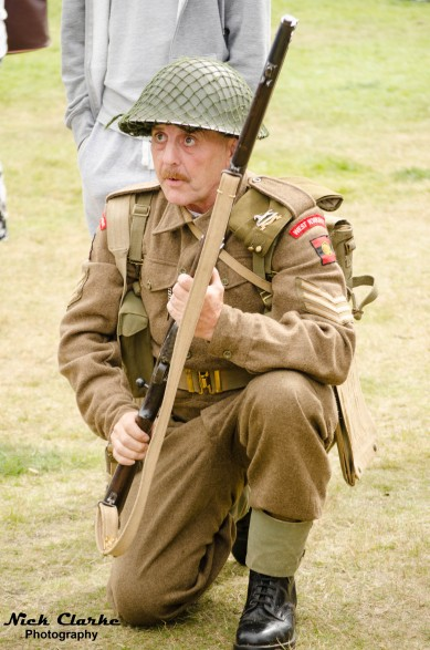 Halifax Show - WWII Sergeant - Weapons demonstration
