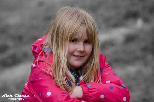 My daughter Holly