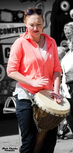 Woman Busker (Leeds)